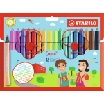 Stabilo Cappi Multicolour 18pc(s) felt pen