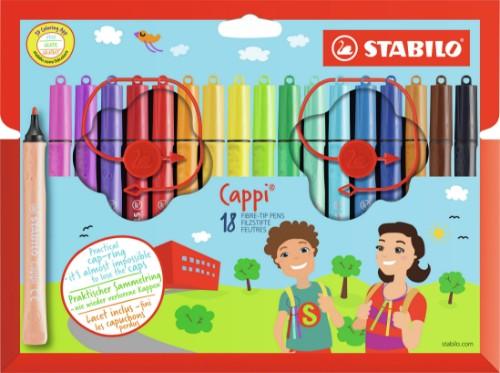 STABILO Cappi felt pen Multicolor 18, 1