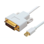 Astrotek Mini DisplayPort DP to DVI Cable 2m - 20 pins Male to 24+1 pins Male 32AWG Gold Plated