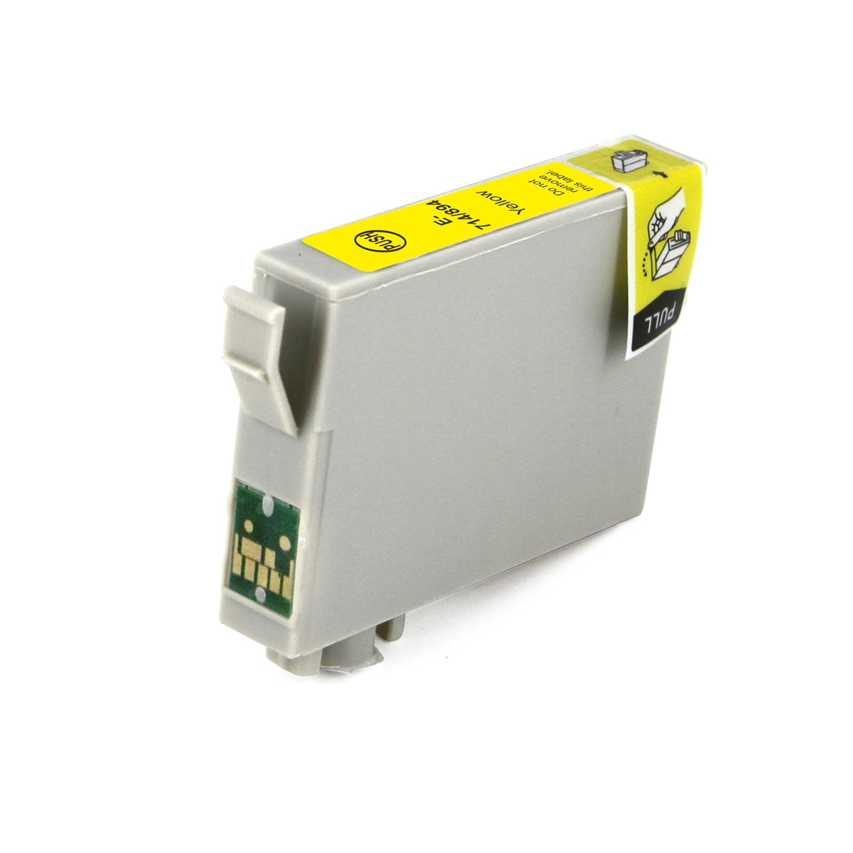 Compatible Epson T0714 Cheetah Yellow Ink Cartridge
