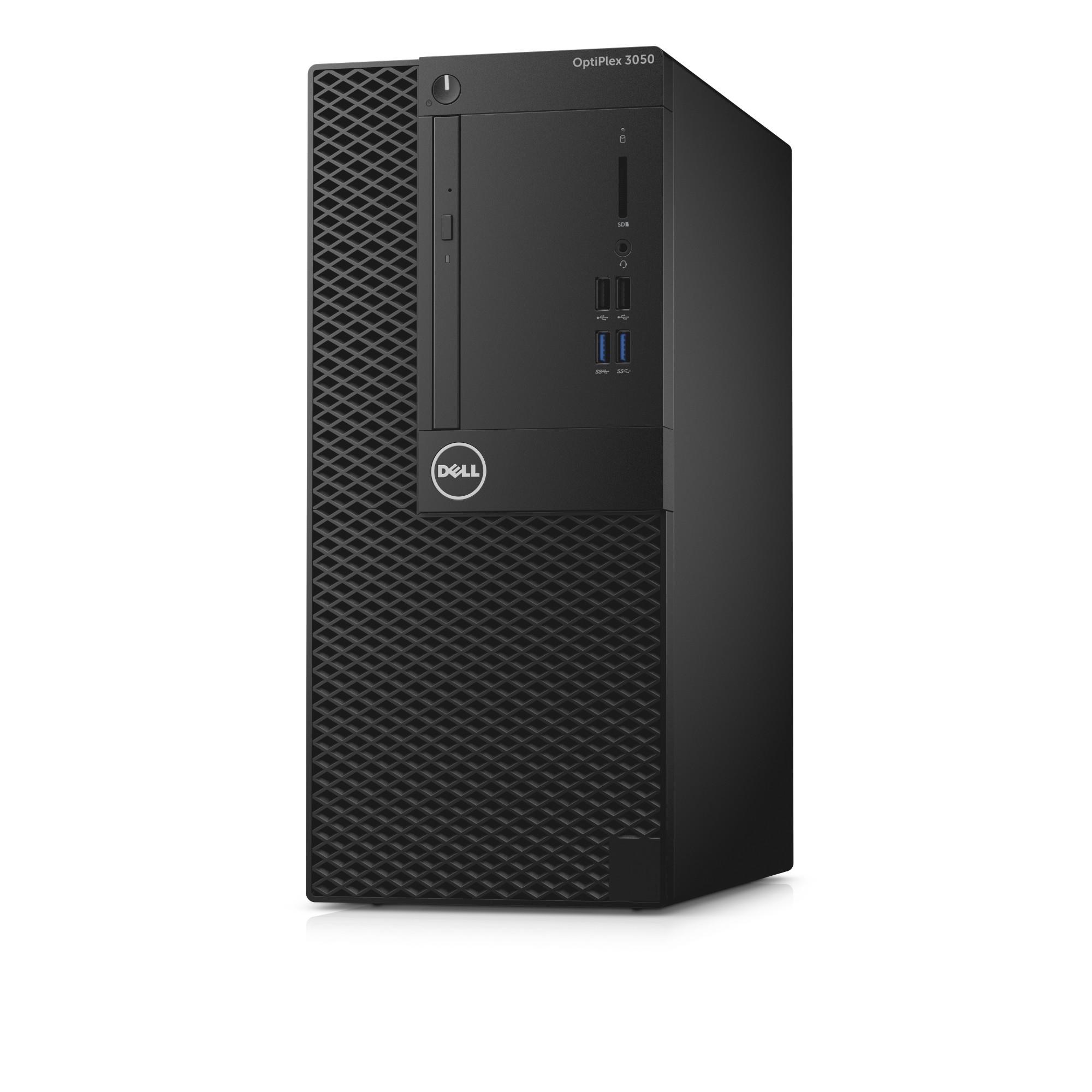 DELL OptiPlex 3050 3.9GHz i3-7100 Mini Tower Black PC