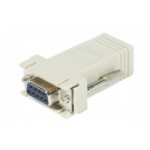 Hypertec 250410-HY cable interface/gender adapter DB-9 RJ-45 White