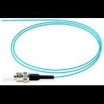 Microconnect FIBFCM3PIG3 3m FC/UPC OM3 Aqua colour fiber optic cable