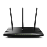 TP-LINK AC1900 wireless router Gigabit Ethernet Dual-band (2.4 GHz / 5 GHz) Black