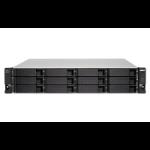 """QNAP TL-R1200C-RP HDD/SSD enclosure Black, Grey 2.5/3.5"""""""