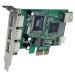 StarTech.com 4 Port PCI Express Low Profile High Speed USB Card PEXUSB4DP