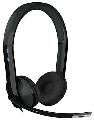 Microsoft LifeChat LX-6000 for Business Binaural Head-band Black headset