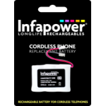 Infapower 1/2AA Soft pack 650mAh Battery