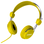 Laser AO-HEADK-YE Yellow Supraaural Head-band headphone