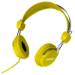 Laser AO-HEADK-YE headphones/headset Head-band Yellow