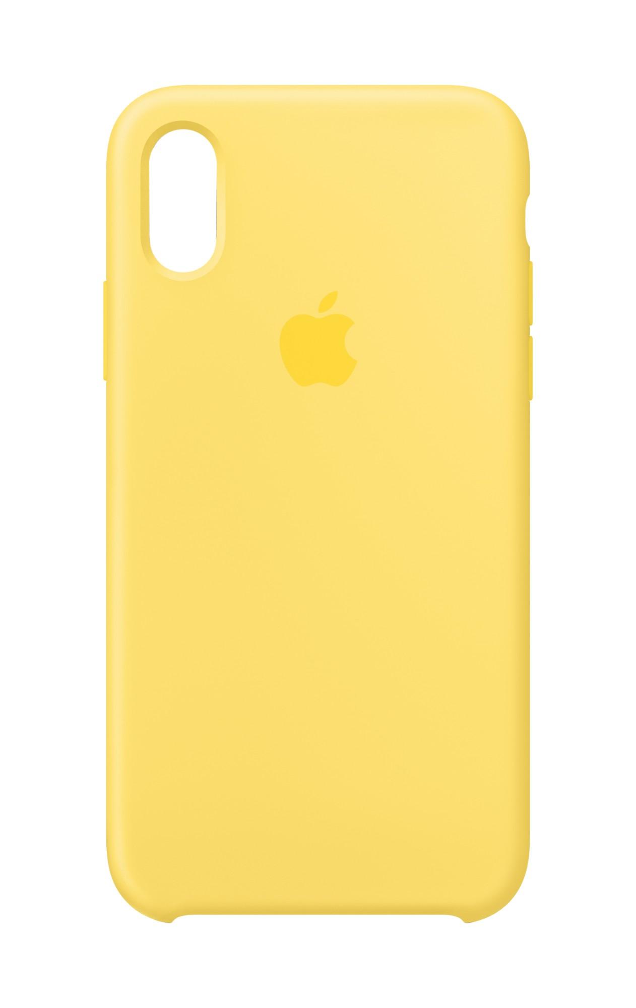 """Apple MW992ZM/A?ES funda para teléfono móvil 14,7 cm (5.8"""") Amarillo"""