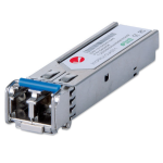 Intellinet Gigabit Ethernet SFP Mini-GBIC Transceiver, 1000Base-Sx (LC) Multi-Mode Port, 550m, Equivalent to Cisco GLC-SX-MM, Three Year Warranty