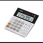 Casio MH-12-WE calculator Desktop Basic Black, White