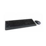 Lenovo 4X30H56800 RF Wireless AZERTY Belgian Black keyboard