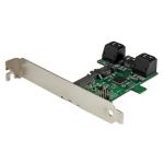 StarTech.com Port multiplier controller card - 5-port SATA to single SATA III