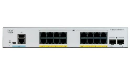 Cisco Catalyst C1000-16P-E-2G-L network switch Managed L2 Gigabit Ethernet (10/100/1000) Grey Power over Ethernet (PoE)