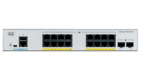 Cisco Catalyst C1000-16P-2G-L switch Gestionado L2 Gigabit Ethernet (10/100/1000) Gris Energía sobre Ethernet (PoE)