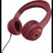 ZAGG Aurora Headphones Head-band Red