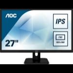 """AOC 27E1H LED display 68.6 cm (27"""") 1920 x 1080 pixels Full HD Black"""