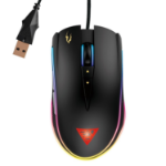 GAMDIAS Zeus P1 Optical USB Optical 12000DPI Right-hand Black mice