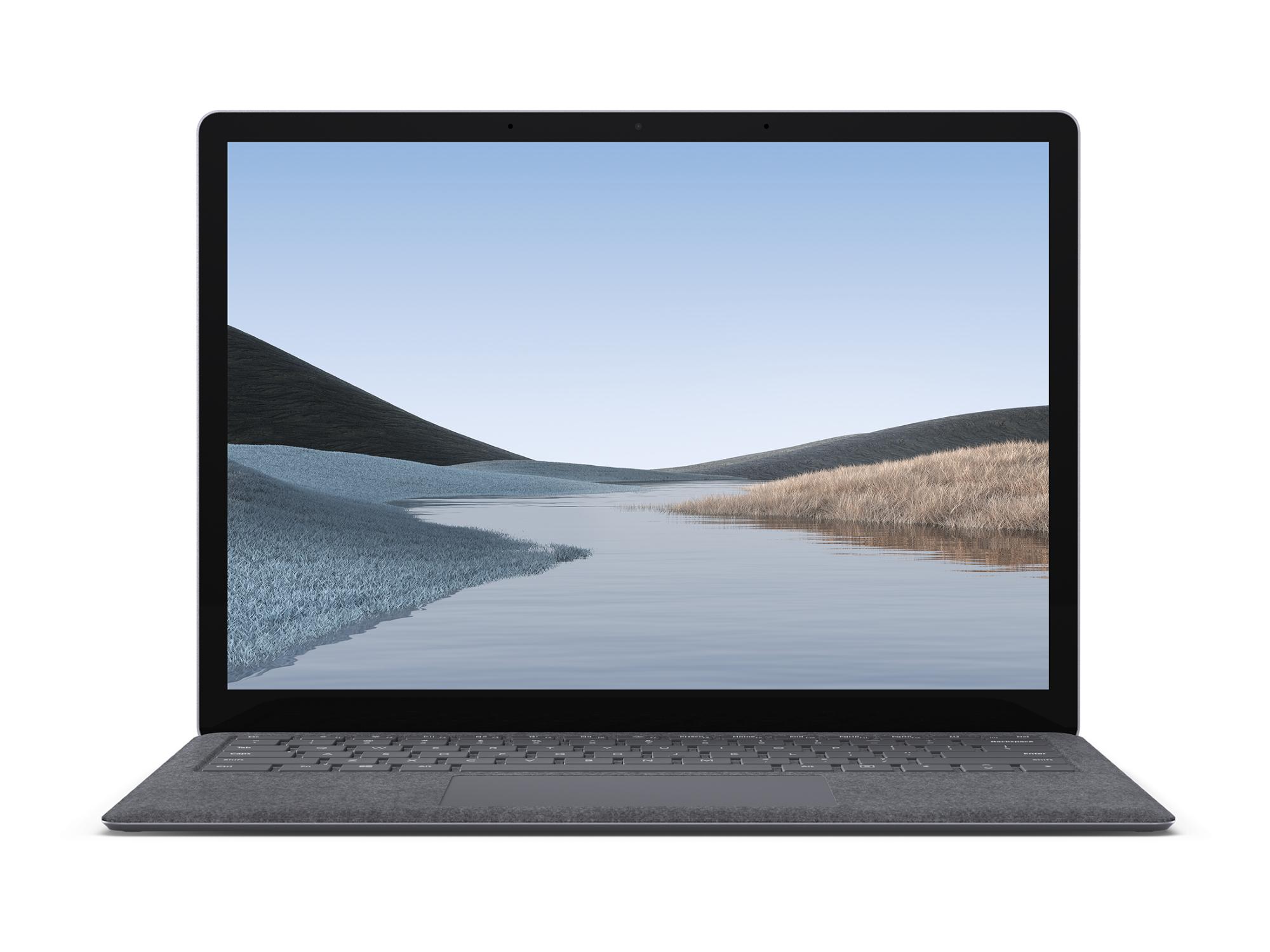 "Microsoft Surface Laptop 3 Portátil Platino 34,3 cm (13.5"") 2256 x 1504 Pixeles Pantalla táctil Intel® Core™ i5 de 10ma Generación 8 GB LPDDR4x-SDRAM 256 GB SSD Wi-Fi 6 (802.11ax) Windows 10 Pro"