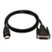 V7 HDMI (m) de 1 m a DVI-D dual-link (m) - Color negro