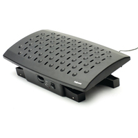 Fellowes 8060901 foot rest Black