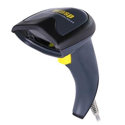 Wasp WDI4200 Handheld bar code reader 1D/2D LED Black,Grey