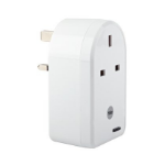 Yale EF-PS White power plug adapter