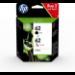 HP Pack de ahorro de 2 cartuchos de tinta original 62 negro/tricolor