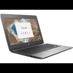 "HP Chromebook 11 G5 1.6GHz N3050 11.6"" 1366 x 768pixels Silver"