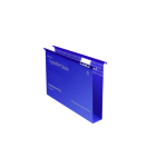 Rexel Crystalfile Classic Foolscap Suspension File 50mm Blue (50)