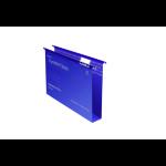 Rexel Crystalfile Classic Foolscap Suspension File 50mm Blue (50)