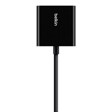 Belkin Universal HDMI to VGA Adapter with Audio  - Black (B2B137-BLK)
