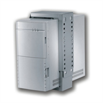 Newstar CPU-D100WHITE Desk-mounted CPU holder White CPU holder