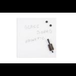 Bi-Office GL170101 magnetic board Glass White