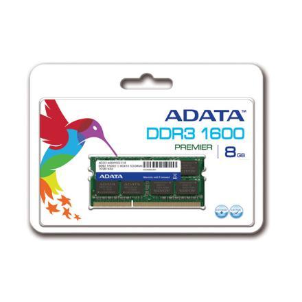 8GB DDR3 SO-DIMM 1600 512x8 Singal Tray
