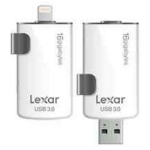 Lexar 16GB, USB 3.0/Lightning 16GB USB 3.0/Lightning Black,White USB flash drive