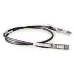 Hewlett Packard Enterprise X242 10G SFP+ 1m coaxial cable Direct Attach Copper SFP+ Black