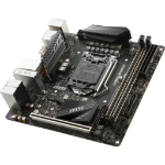MSI Z370I GAMING PRO CARBON AC Intel Z370 LGA 1151 (Socket H4) Mini ITX