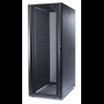 """APC NetShelter SX 48U 750mm(b) x 1200mm(d) 19"""" IT rack, behuizing met zijpanelen, zwart"""