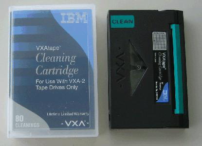 IBM VXA Cleaning Cartridge
