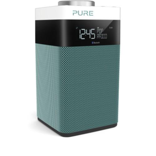 Pure Pop Midi S Portable Digital Black, Mint colour radio