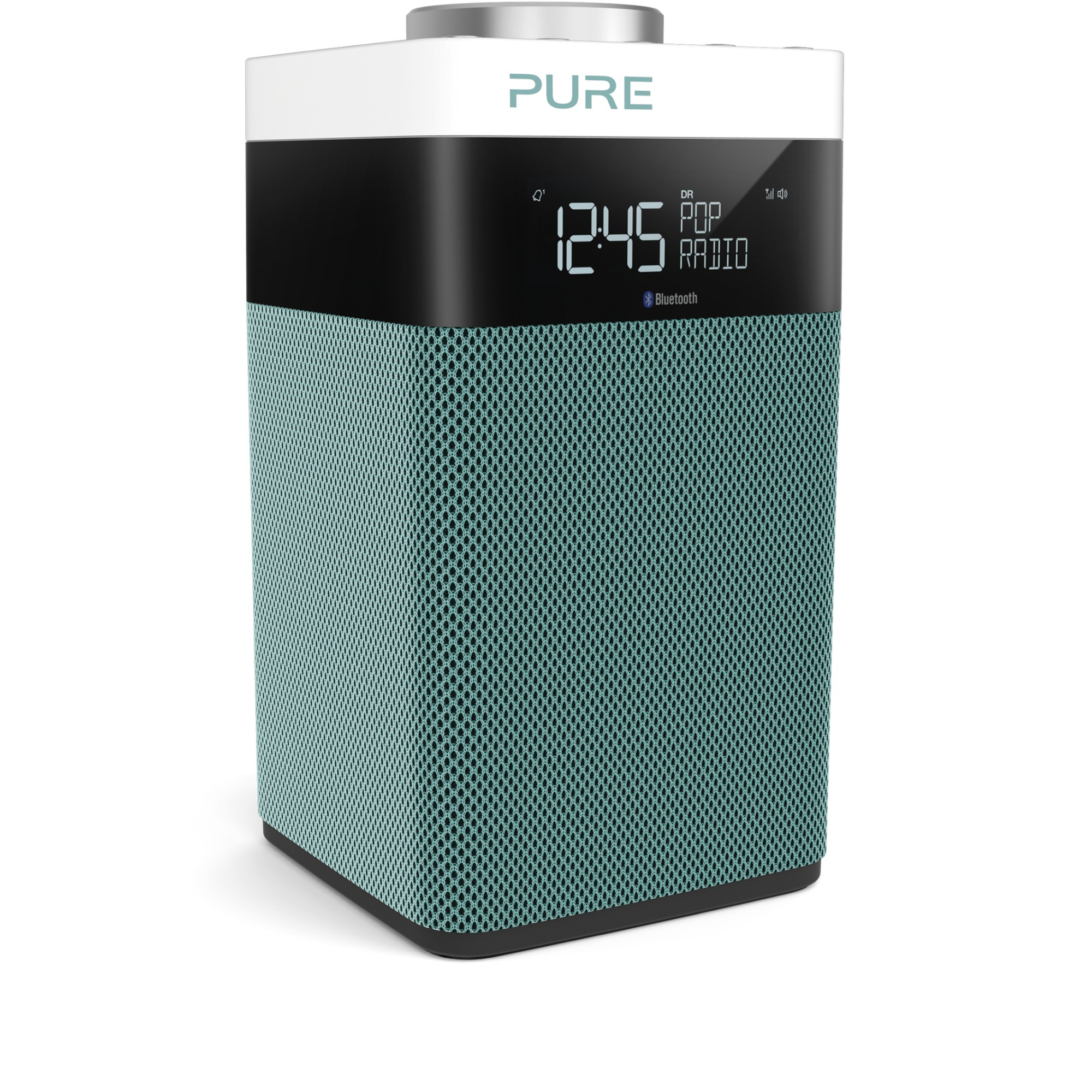 Pure Pop Midi S Portable Digital Black, Mint colour radio