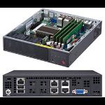 Supermicro SuperServer E200-9A Intel SoC BGA 1310 1U Black