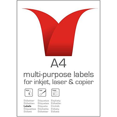 Stampiton Value Multipurpose Label 99.1x93.1mm 6 Per Sht (600 Labels)