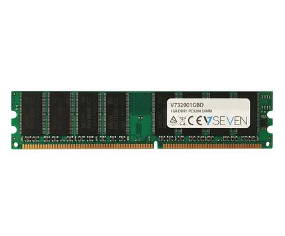 V7 1GB DDR1 PC3200 - 400Mhz DIMM Desktop Memory Module - V732001GBD