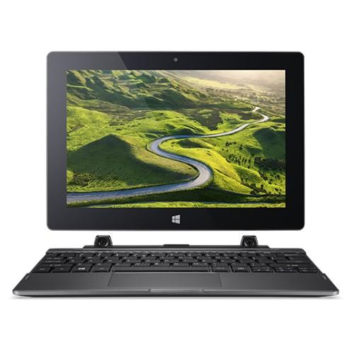 "Acer One 10 S1003-18RT Black Hybrid (2-in-1) 25.6 cm (10.1"") 1280 x 800 pixels Touchscreen Intel® Atom™ 2 GB DDR3L-SDRAM 64 GB Flash Windows 10 Home"