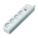 Belkin 4-Outlet Economy surge protector 4 AC outlet(s) 1 m White