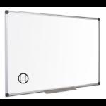 Bi-Office Maya Gridded Mgntc Alu Frame WTboard 240x120cm DD